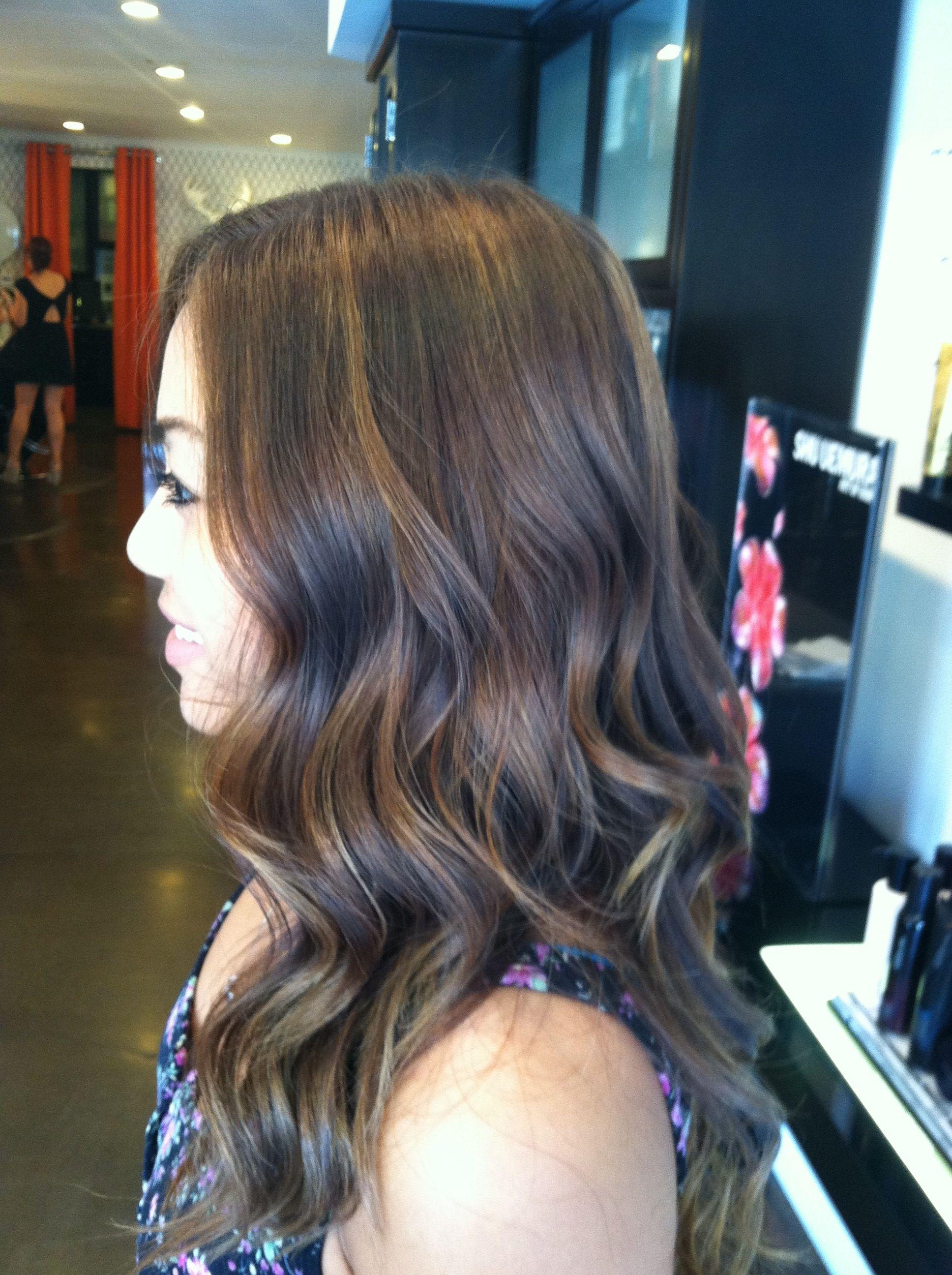 Subtle Sunkissed Balayage Balayage Medium Long Hair Hair Beauty