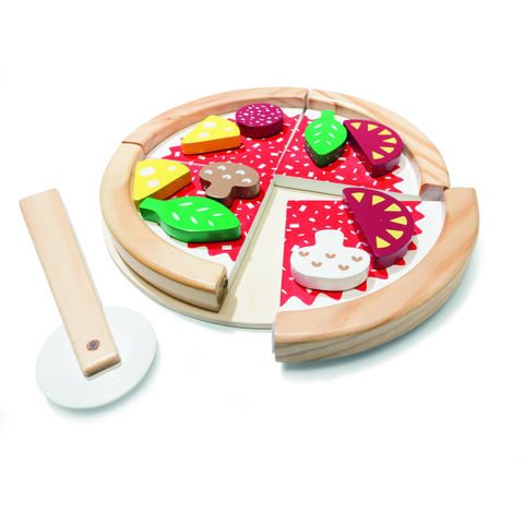 6a9ae43c108 Wooden Pizza Set
