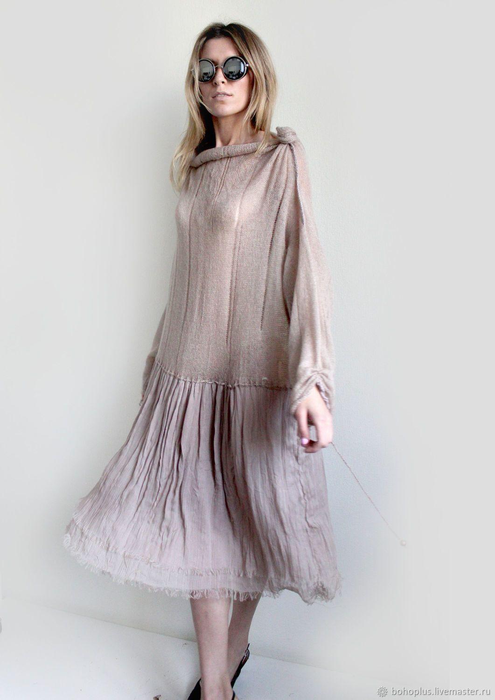Платья ручной работы. Ярмарка Мастеров - ручная работа. Купить Платье в  стиле бохо