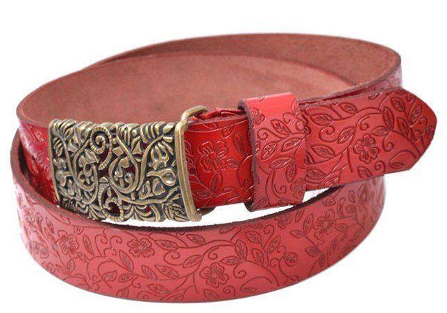 Free shippig western Print cow leather belt,lady/men hollow out belt fashion women/men  belts on AliExpress.com. $151.50