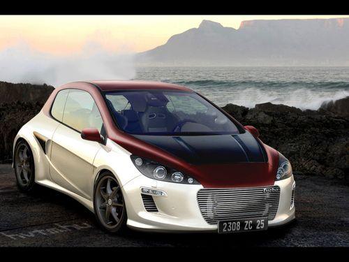 peugeot 308 turbo tuning peugeot wallpaper cars. Black Bedroom Furniture Sets. Home Design Ideas