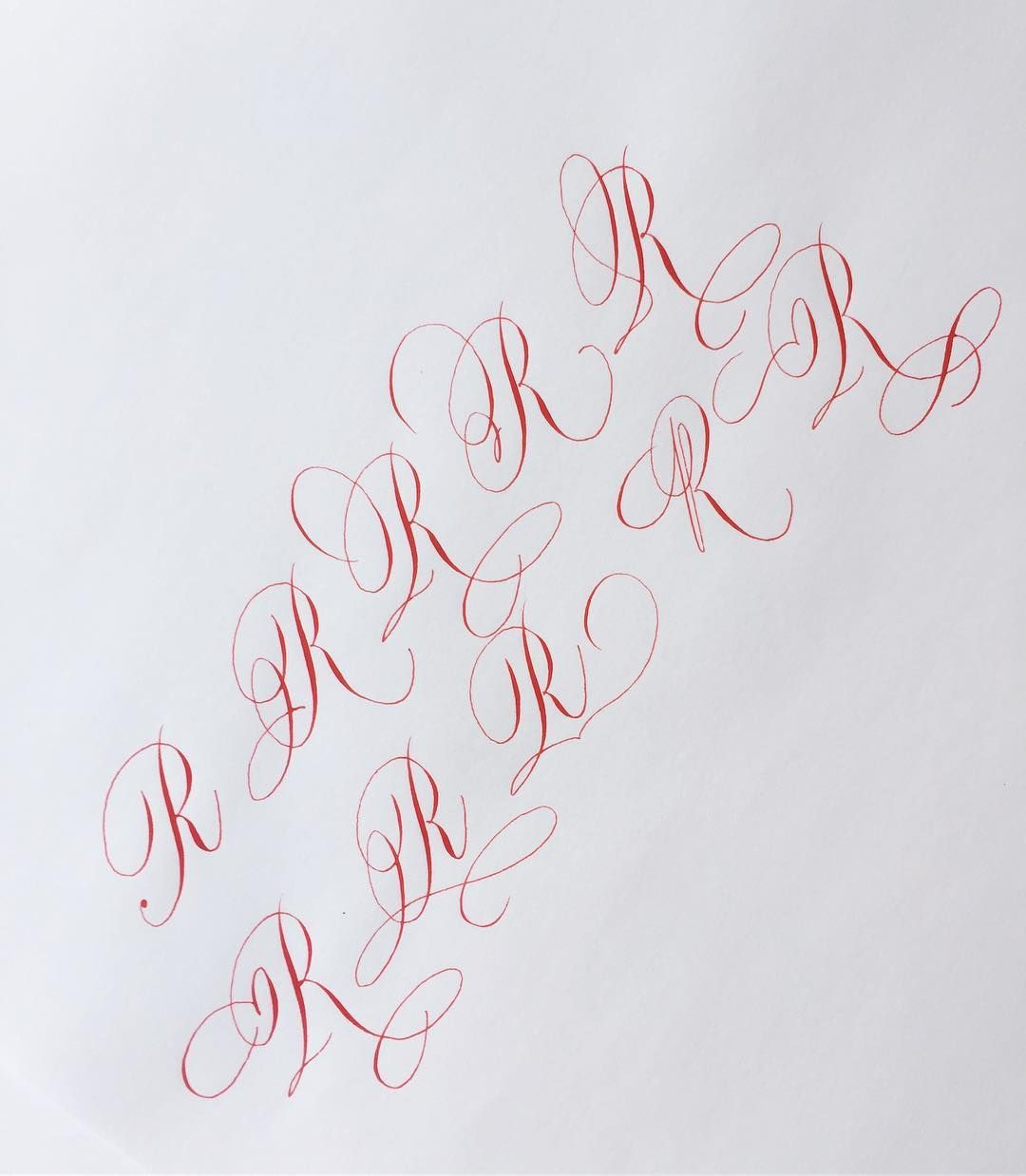 I used to not like R, but after found some ways to flourish it, I think I am falling in love with this letter