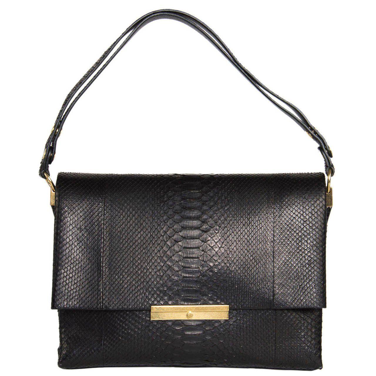 Celine Black Snake Skin Bag  6bff90dbbb46f
