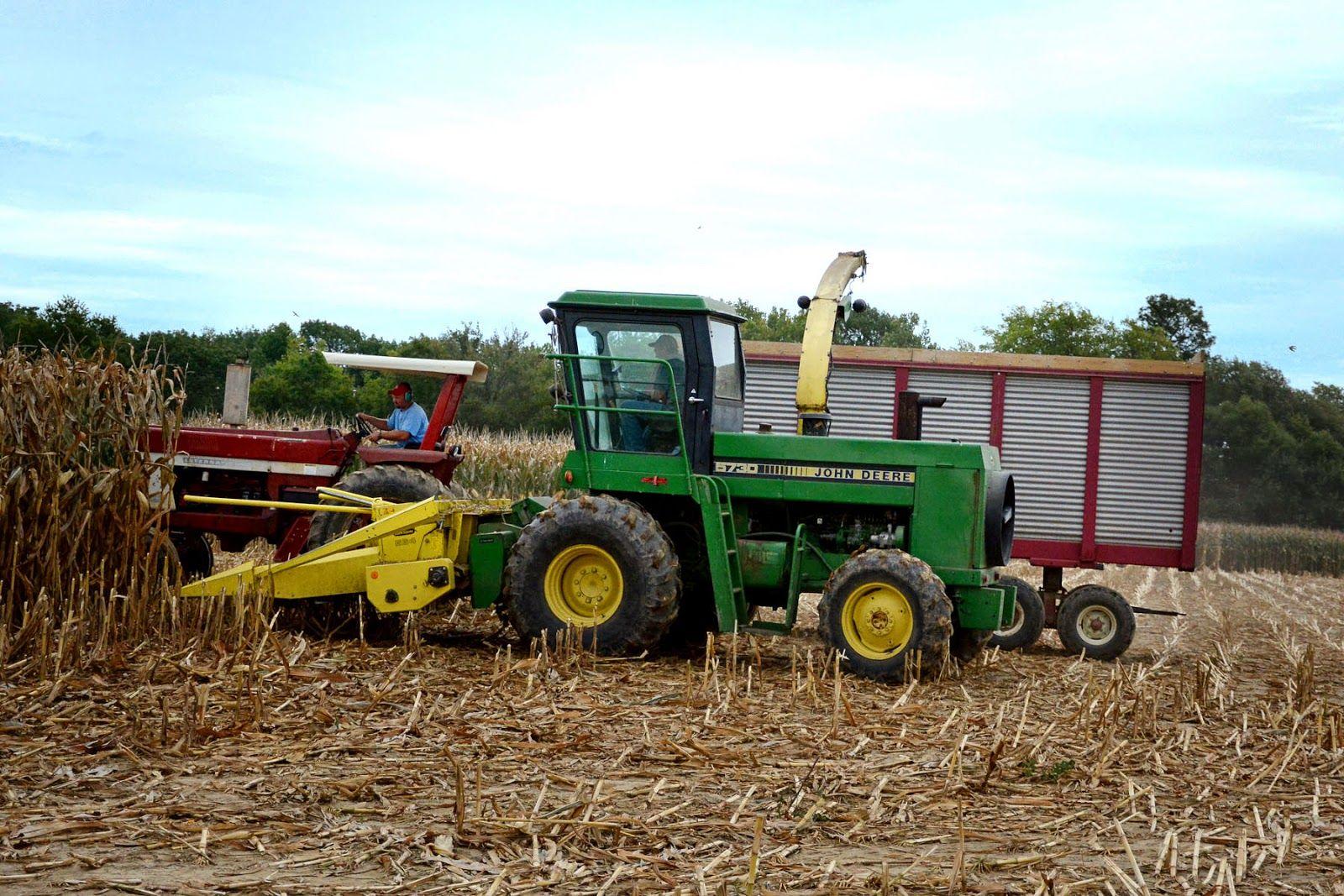 John Deere 5830 This Farm Family's Life: It's Choppin' Time.