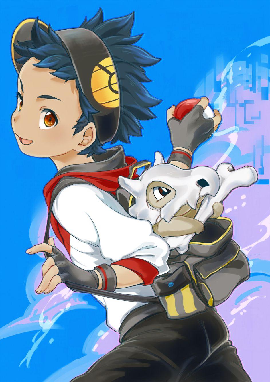 Artist Pixiv Id 354499 Pokémon Go Cubone Male