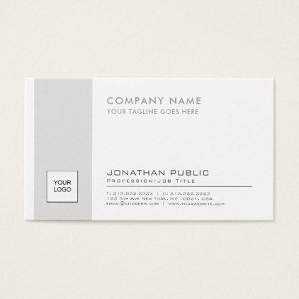 Professional elegant logo plain corporate modern business card reheart Image collections