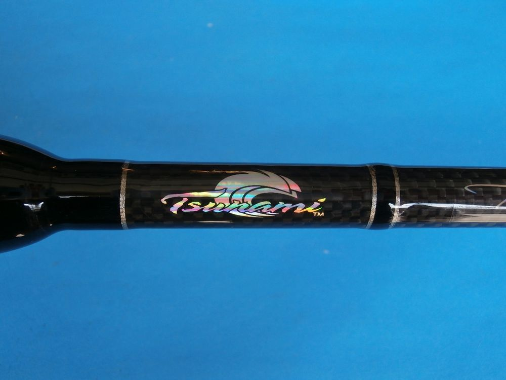 Boat Rod Tsunami Trophy Series Spinning Rod Tstbs 661m 12 30 Lb Boat Rods Spinning Rods Tsunami