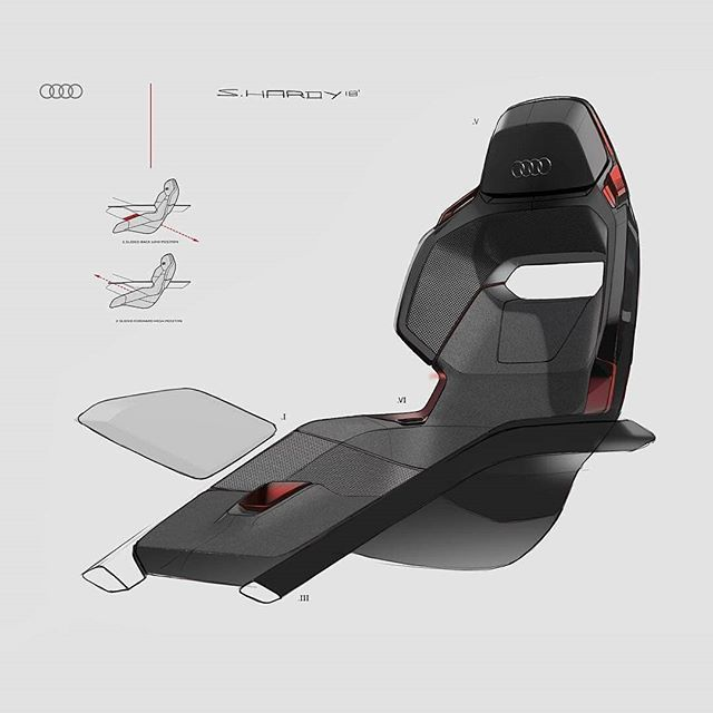"""CarDesignHUE on Instagram: """"@Regran_ed from @syd_hardy -  AUDI PB18 