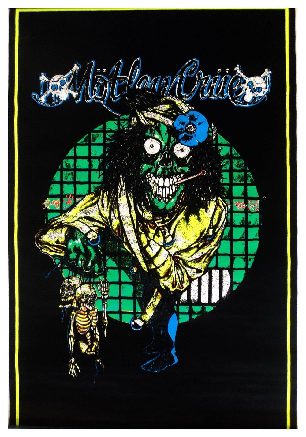 black light posters | Motley Crue - Dr Feelgood Black Light Poster