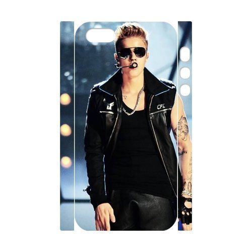 Justin Bieber Diy 3D Case for iPhone 5,5S ,Customized case