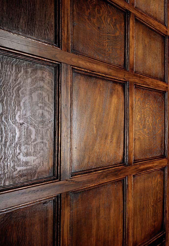 Oakleaf Replica Wood Panels Faux Jacobean Oak Panelling