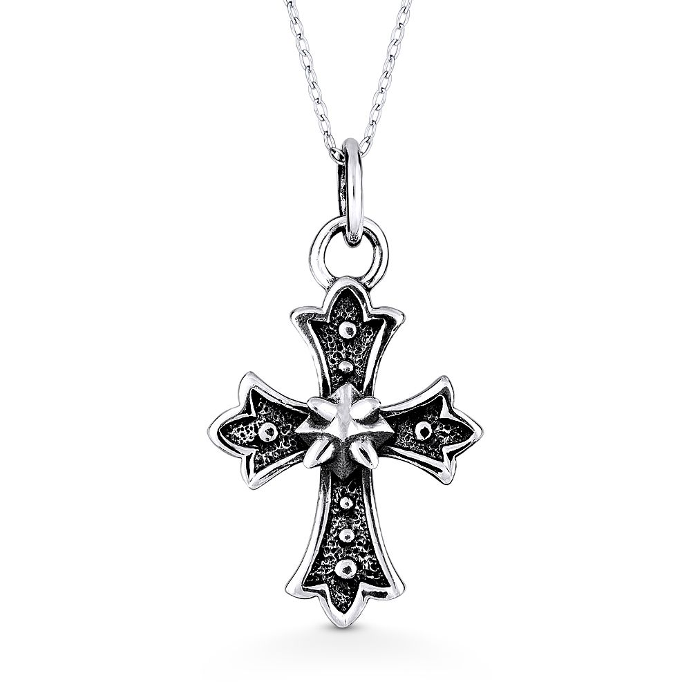 14K Yellow Gold-plated 925 Silver Ankh Cross Pendant with 30 Necklace Jewels Obsession Ankh Cross Necklace