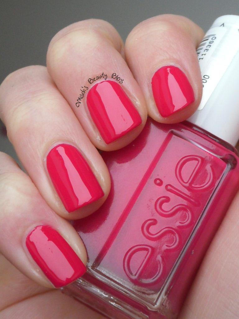 Essie in #Watermelon   Color Me Badd (Nails)   Pinterest   Essie