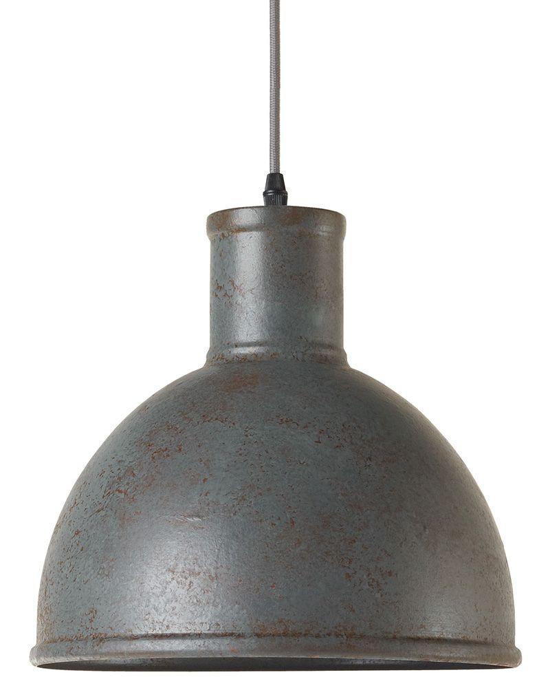 Alt wirkende Fabrik-Hängelampe in rauher Optik FABBRICA *Rauhe Fabriklampe: wie ein altes Vintage-Stück aus einer alten Industrie-Anlage
