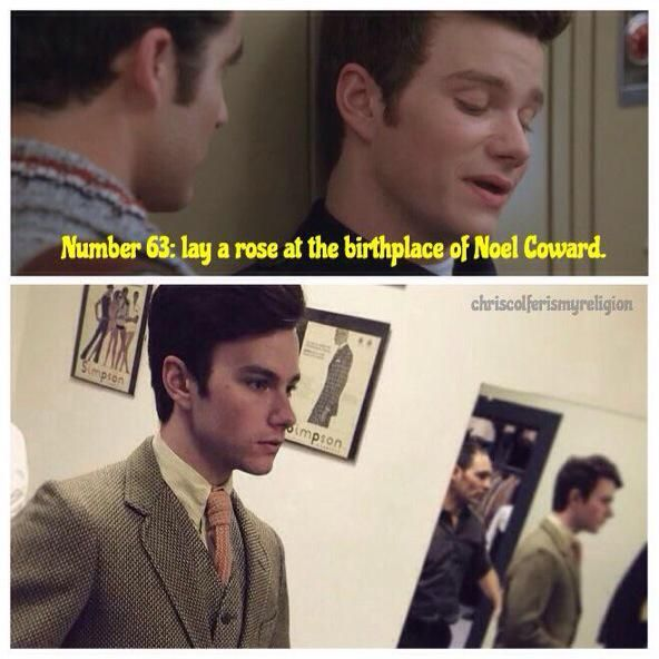 .chriscolfer this is such an coincidence