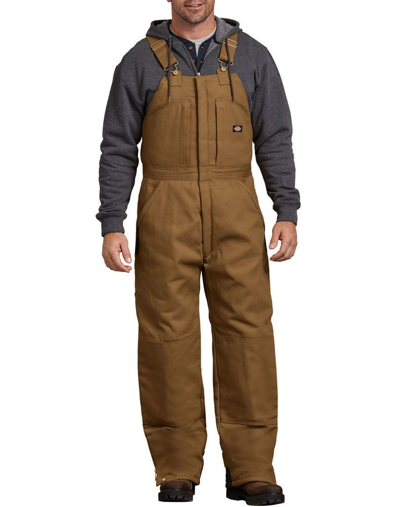 d tb839bd dickies premium duck insulated bib overalls on insulated overalls id=54913