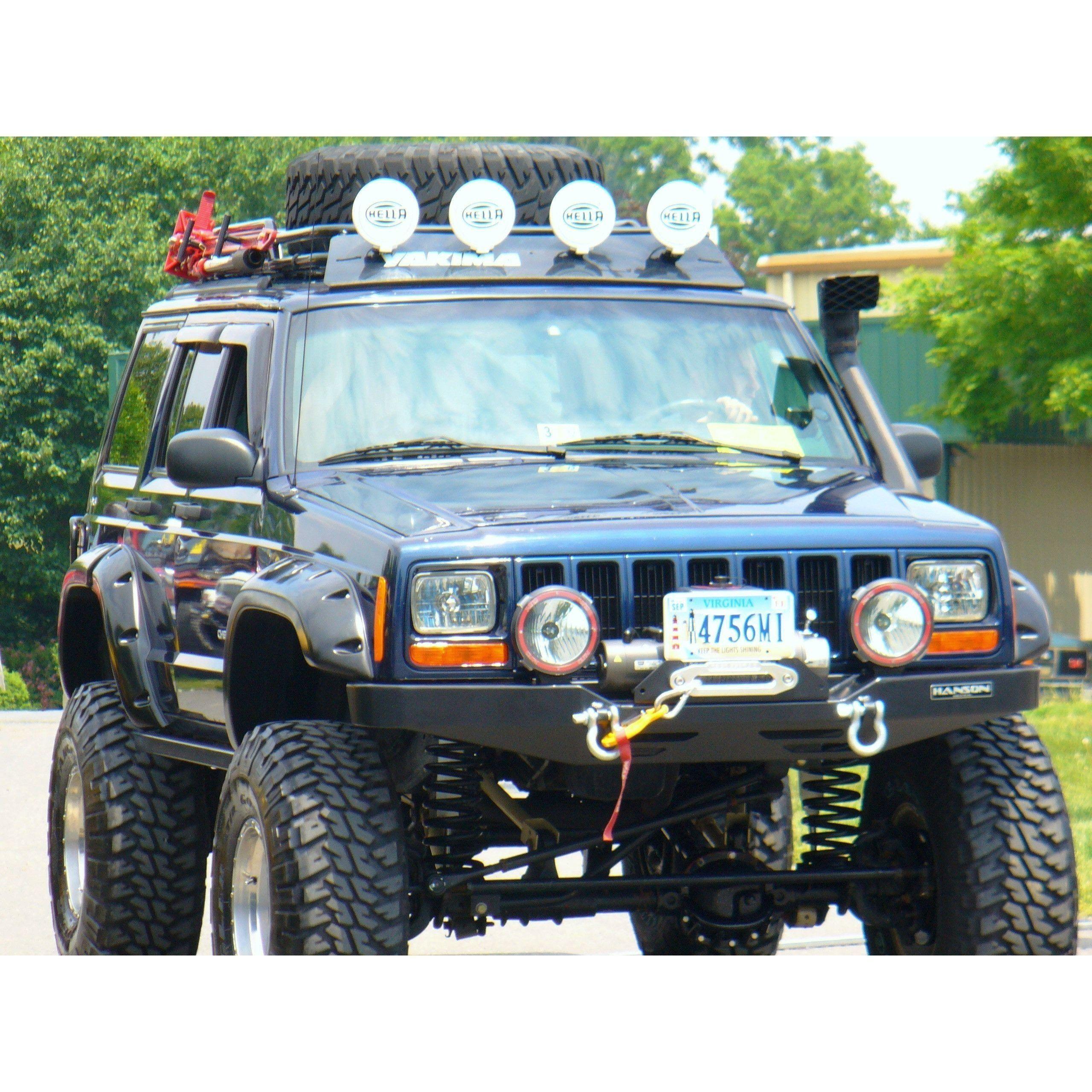 Jeep Cherokee Roof Rack Safari Style Xj Cherokee Jeep Cherokee
