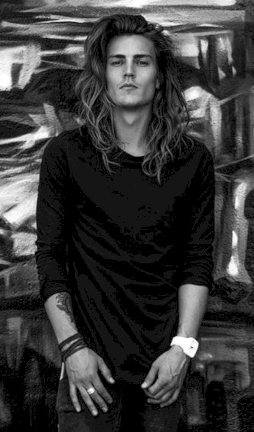 Cool long haircuts for men  coolest long hairstyles for men for   hair  pinterest