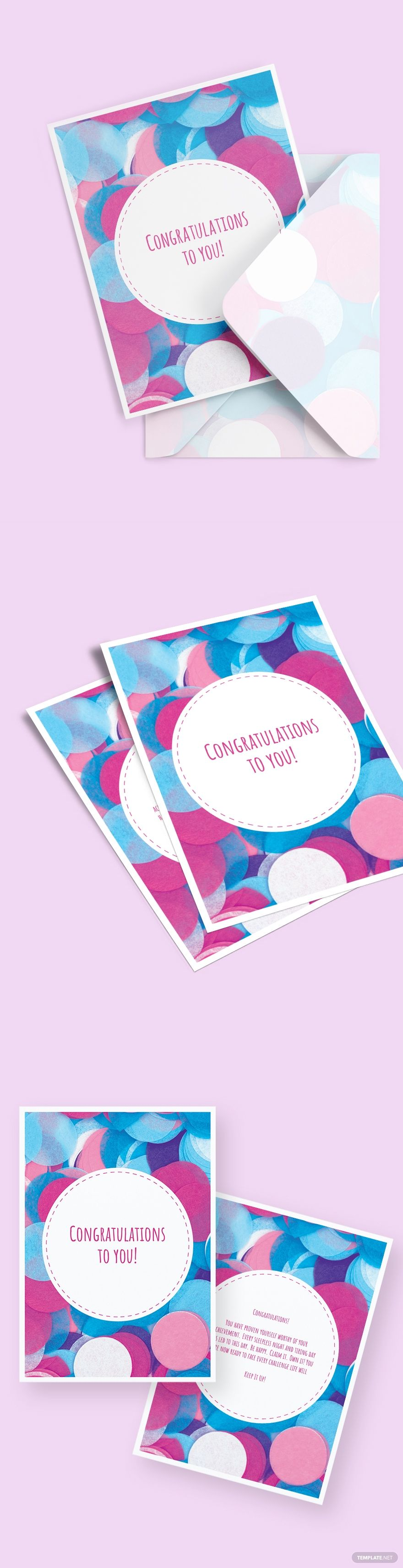 congratulations greeting card template free pdf  word