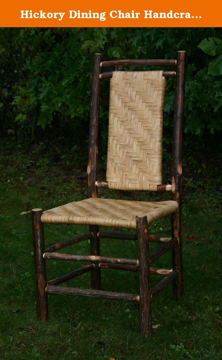 Hickory Dining Chair Handcrafted in the USA. Hickory