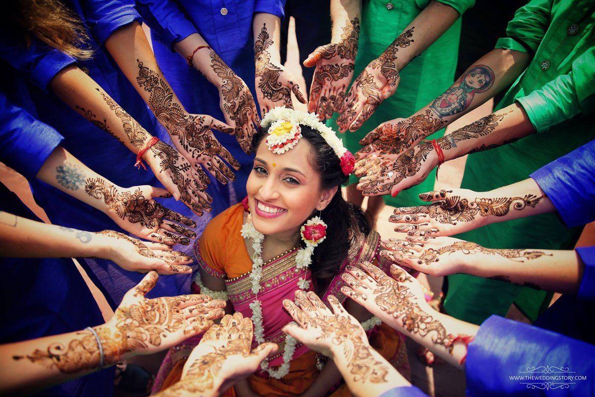 I Mehndi Flower Jewelry : Gota and fresh flower jewellery for the indian mehndi wedding