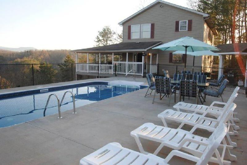 Mountain Home Manor Pigeon Forge Cabin Heated Private Pools Pool 1 Gatlinburg Cabin Rentals Breathtaking Views Pigeon Forge Cabin Rentals