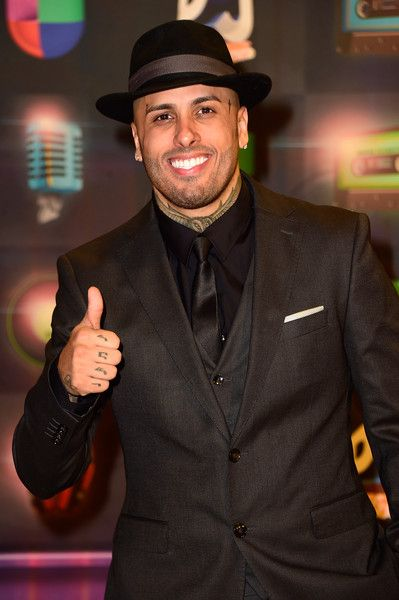 Nicky Jam Photos - Nicky Jam attends Univision's Premios Juventud 2015 at Bank United Center on July 16, 2015 in Miami, Florida.