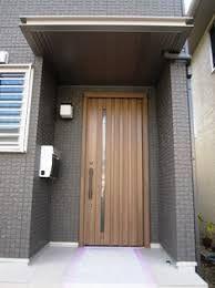 玄関 タイル グレーの外壁 の画像検索結果 玄関 家 外観 タイル