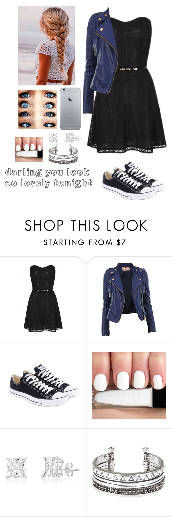"""Date"" by elenamoore17 ❤ liked on Polyvore featuring Converse"