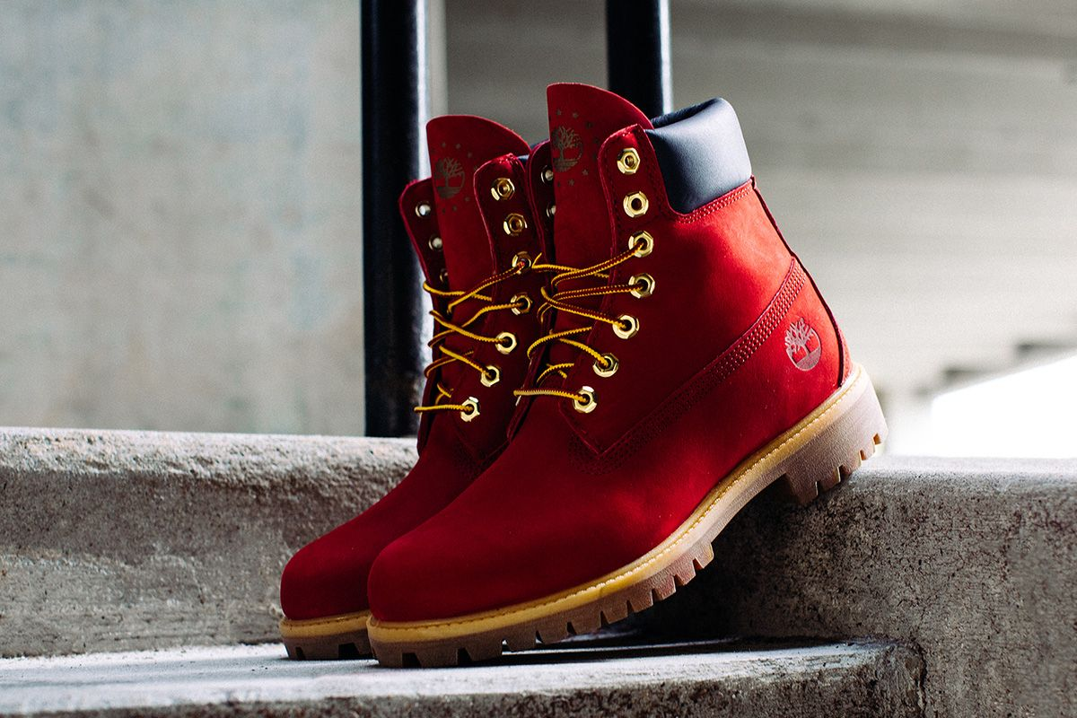 Timberland Drops The 6 Inch Boot In Premium 39patriotic Red