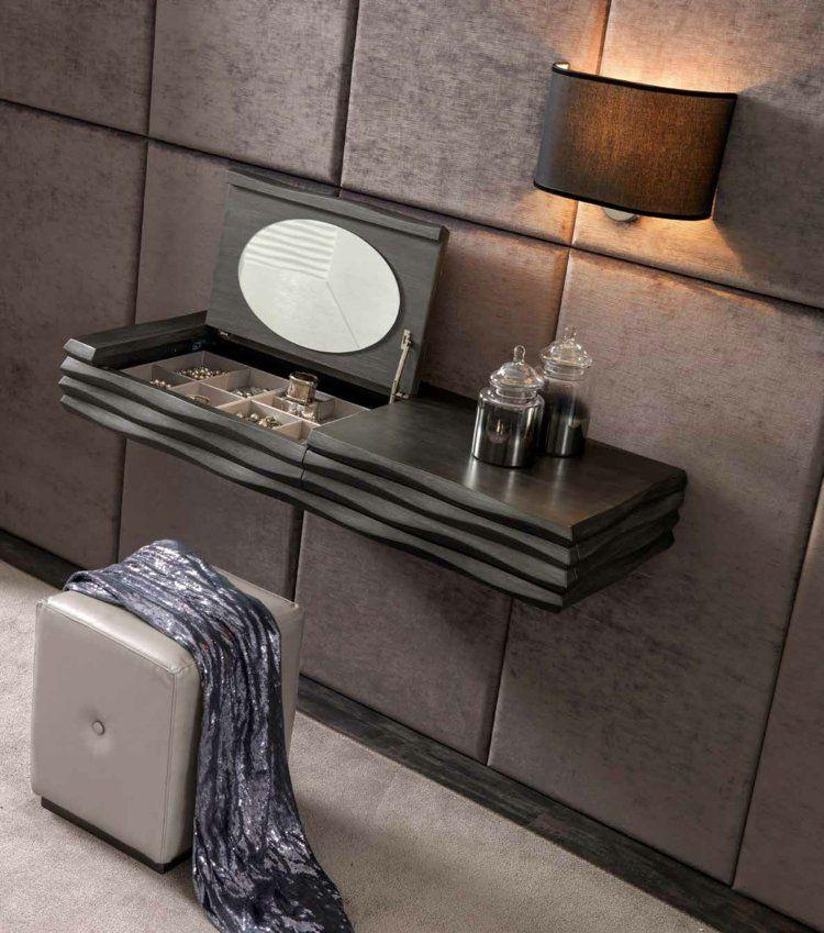 meuble coiffeuse en blanc et en d autres couleurs 30 id es inspirantes coiffeur appliques. Black Bedroom Furniture Sets. Home Design Ideas