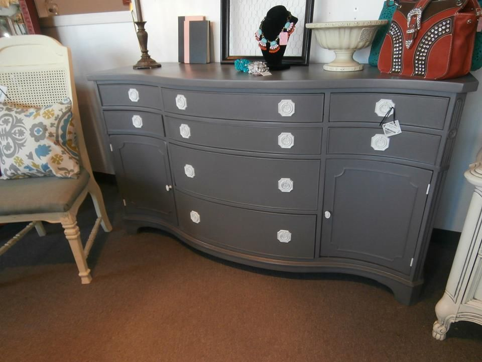 General Finishes Driftwood | Gray painted furniture ...