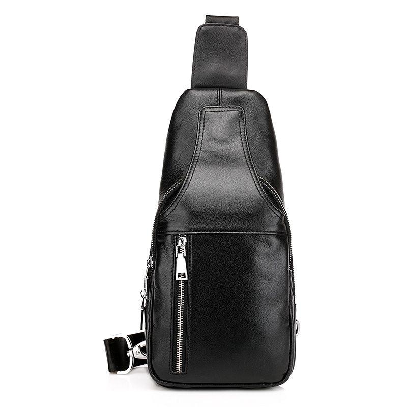 9e75d7c680f Comprar bolso de cuero auténtico de pecho para hombres bolsos pequeños  nuevo estilo  VL10486  - €59.93   bzbolsos.com