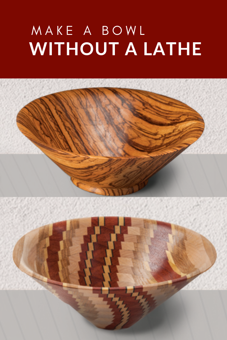 How To Make A Wooden Bowl Without A Lathe Fox Chapel Publishing Wooden Bowls Bowl Wood Bowls