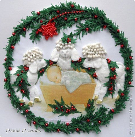 Подделка на рождество своими руками фото 369