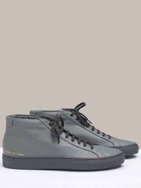 c07b348f70 Common Projects Dark Grey Achilles Mid