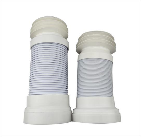 2 Size Flexible Adjustable Waste Pipe | Toilet Waste Drain