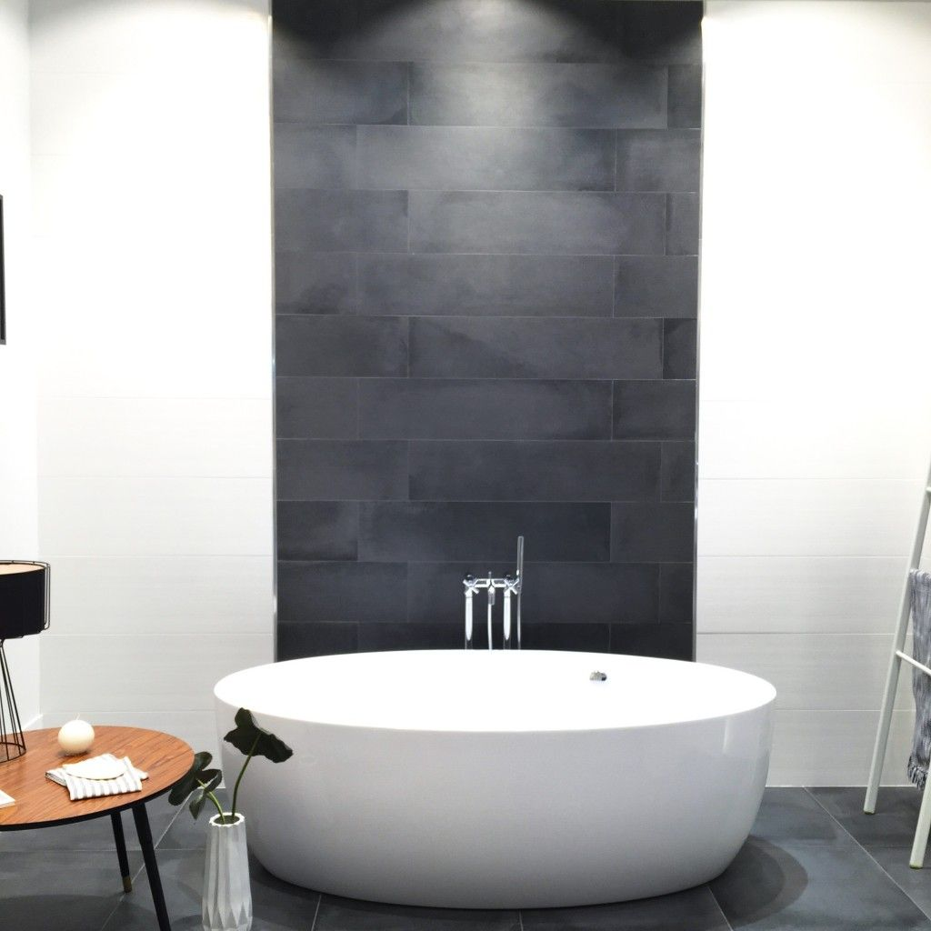 This vignette by roca tile features matier blanco matte white this vignette by roca tile features matier blanco matte white and the derby negro dailygadgetfo Images