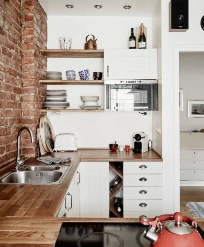 10 Mini Cocinas Maxi Inspiradoras Decorar Cocinas Pequenas