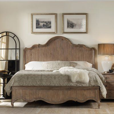 One Allium Way Cora Panel Bed