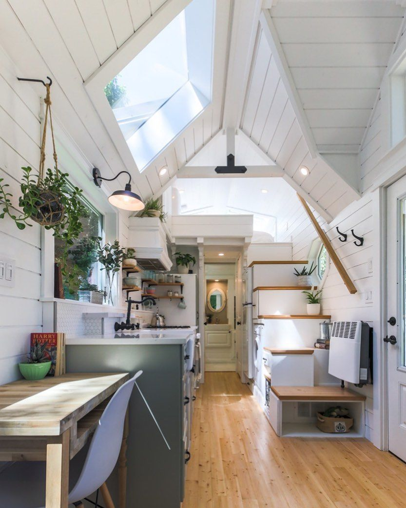 Living Big In A Tiny House On Instagram This Truly Is A Dream Tiny House Check Out The Tour In Our La Tiny House Interior Tiny House Living Tiny House Decor