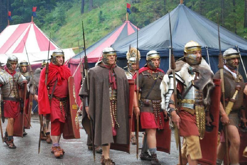 Rievocazione storica dei legionari