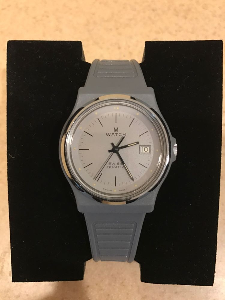 Mondaine M-watch Swiss Quartz Working  4f0a6c5ff6