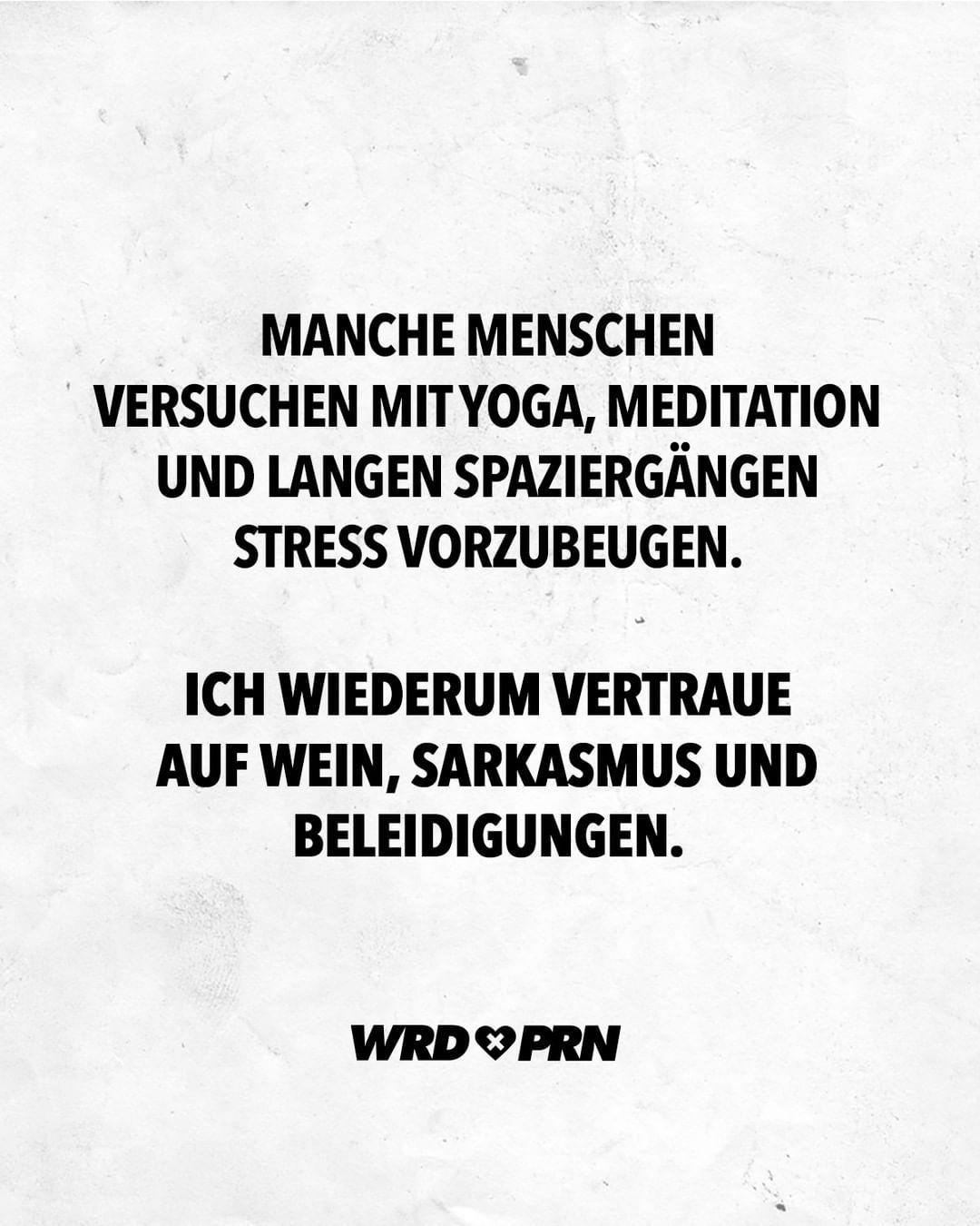 wordporn.® on Instagram: Beste Strategie 😁 #