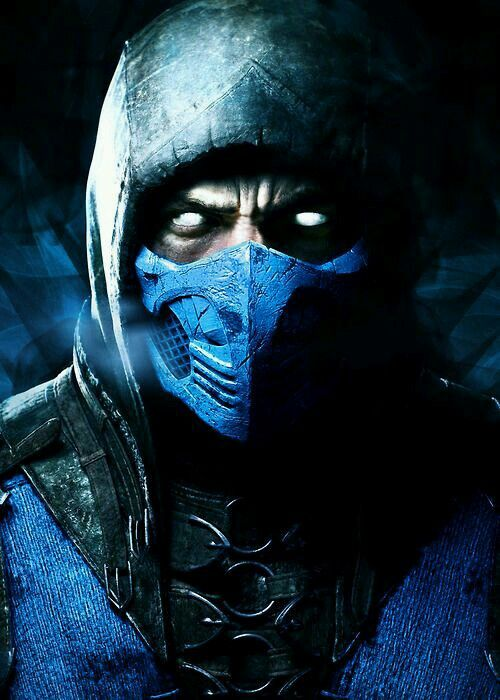 Sub Zero Mortal Kombat X Face