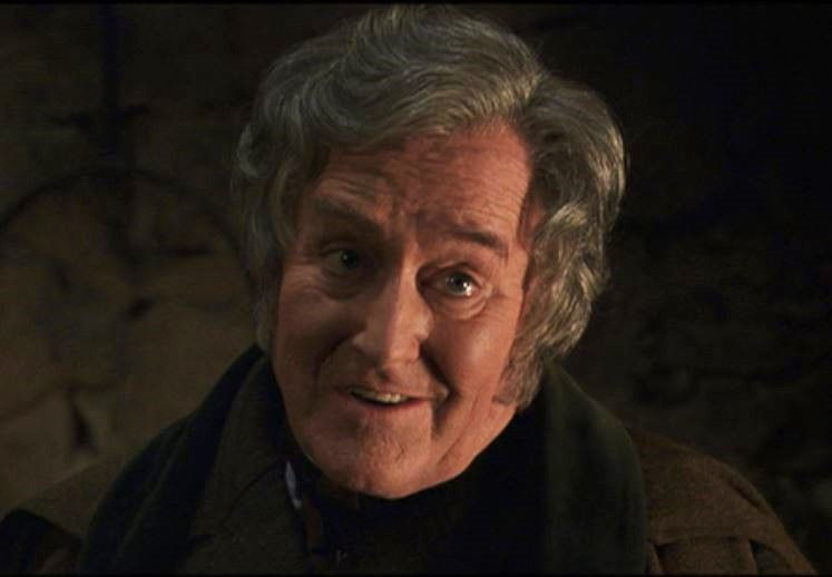 Robert Hardy As Conelius Fudge Harry Potter And The Chamber Of Secrets Robert Hardy Harry Potter Chamber Of Secrets