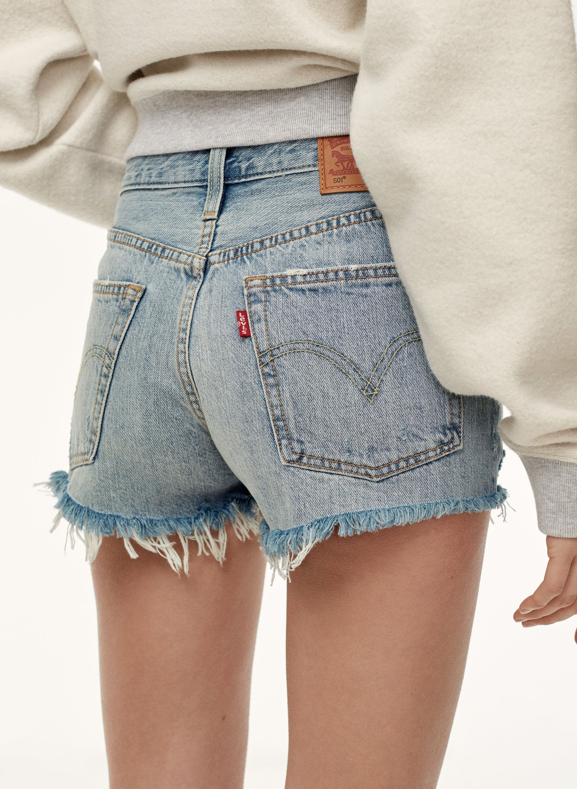 692ff33d Levi's 501 SHORT WAVELINE | Aritzia Want these so bad!! But they just don't  flatter my shape.