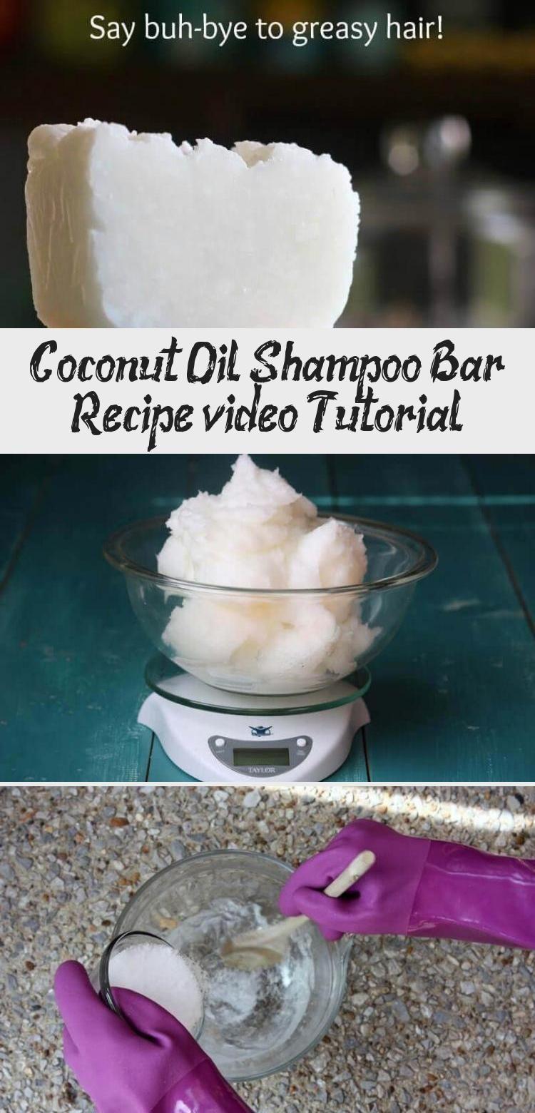 Coconut Oil Shampoo Bar Recipe (video Tutorial) Sky's