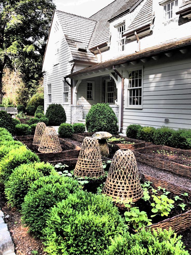tgif  cottage garden garden cloche garden design