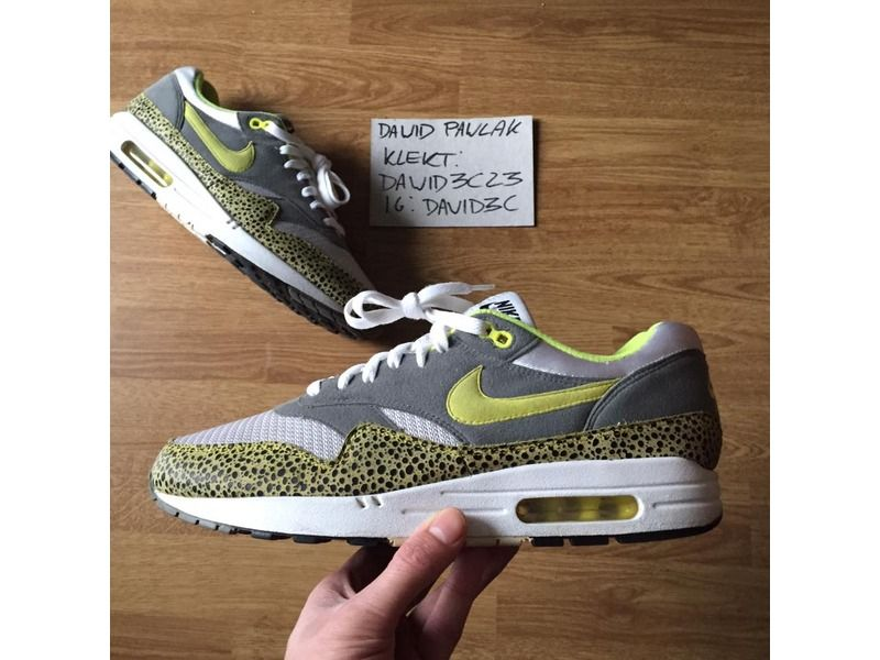 Ordenanza del gobierno Conmemorativo frío  Nike Air Max 1 ND Safari Pack Voltage Yellow